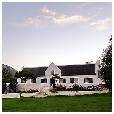 The Cape Dutch homestead dates to 1757. It was restored in 2001 by the present owner.