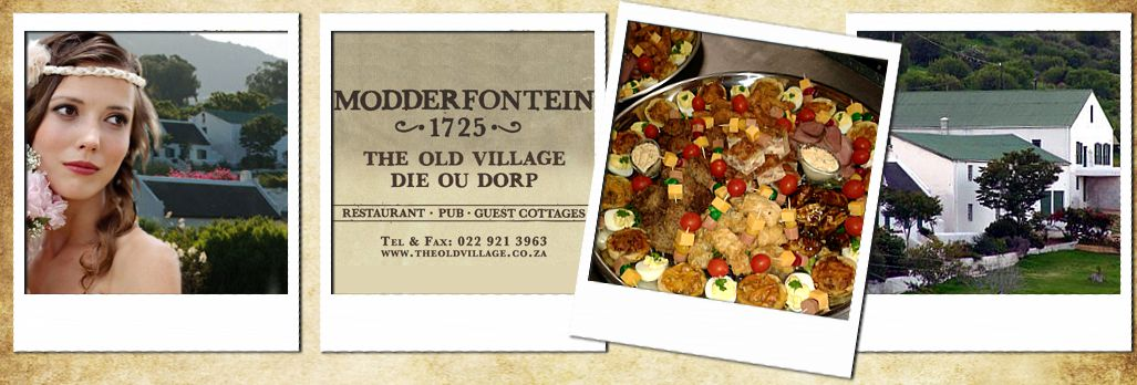 The Old Village Function and Wedding Venue for Conferences Citrusdal Cape South Africa
